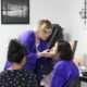 Eye shadow application | beauty academy in Marietta, OH | Preston's Beauty Academy