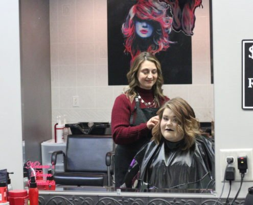 hair styling | beauty academy in Marietta, OH | Preston's Beauty Academy