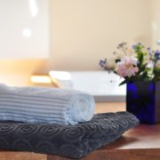 towels and flowers | massage parlor in Marietta OH | Preston's Beauty Academy